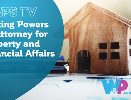 Lasting Power Of Attorney for Property and Financial Affairs
